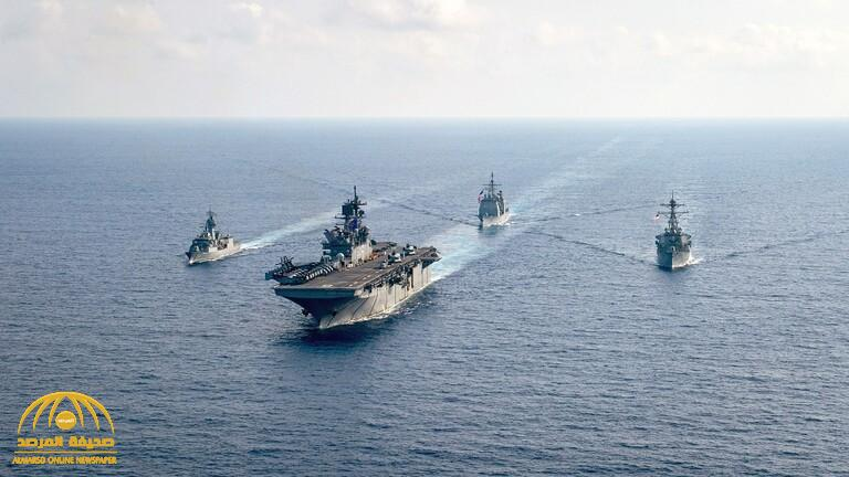 """تهديد بـ """"الردع"""".. أول تعليق من أميركا وأستراليا واليابان على عسكرة """"المواقع المتنازع"""" عليها في البحار المحيطة بالصين"""