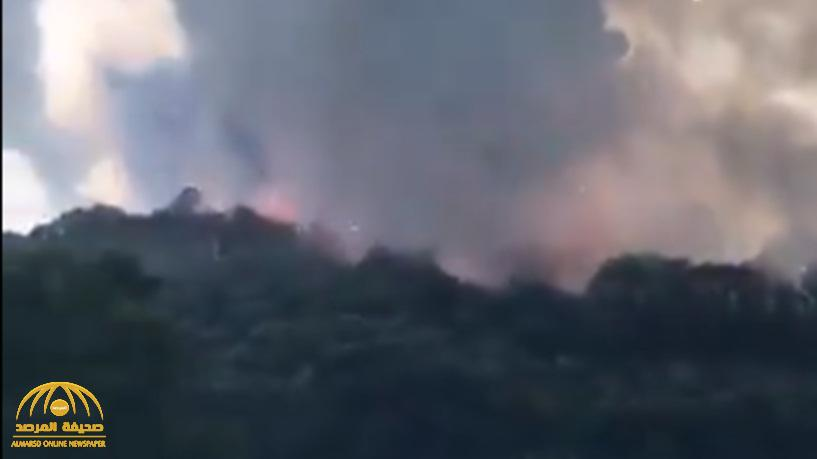 شاهد .. سلسلة انفجارات بمصنع في تركيا يخلف قتلى وعشرات الجرحى