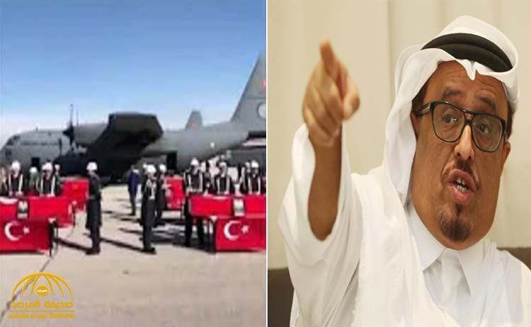 """""""رأى عددًا ضخمًا من التوابيت"""".. ضاحي خلفان يُكذّب تركيا ويكشف عن العدد الحقيقي لقتلى قاعدة الوطية الليبية"""