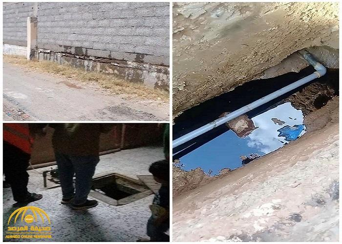 مواطن في عفيف يتفاجأ بطعم ورائحة غريبة للمياه.. ويُصدم بما عثر عليه أسفل منزله !
