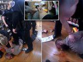 """واقعة """"جورج فلويد"""" تتكرر .. شاهد : شرطيون أمريكيون يقتلون رجلاً داخل متجر في ولاية أركنساس"""